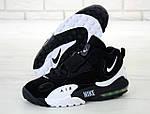 Мужские кроссовки Nike Sportswear Air Max Speed Turf (черно-белые), фото 4