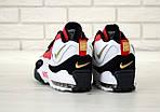 Мужские кроссовки Nike Sportswear Air Max Speed Turf (бело-черные с красным), фото 5