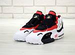 Мужские кроссовки Nike Sportswear Air Max Speed Turf (бело-черные с красным), фото 6