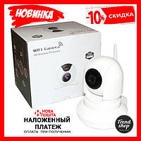 Камера видео-наблюдение IP 163E, WI-FI камера, онлайн поворотная, ночное видение
