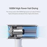 Электрический фен для волос Xiaomi Smate, 1800 Вт SH-A18, фото 4