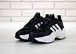 Чоловічі кросівки Adidas Magmur (чорно-білі), фото 2
