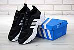 Чоловічі кросівки Adidas Magmur (чорно-білі), фото 3
