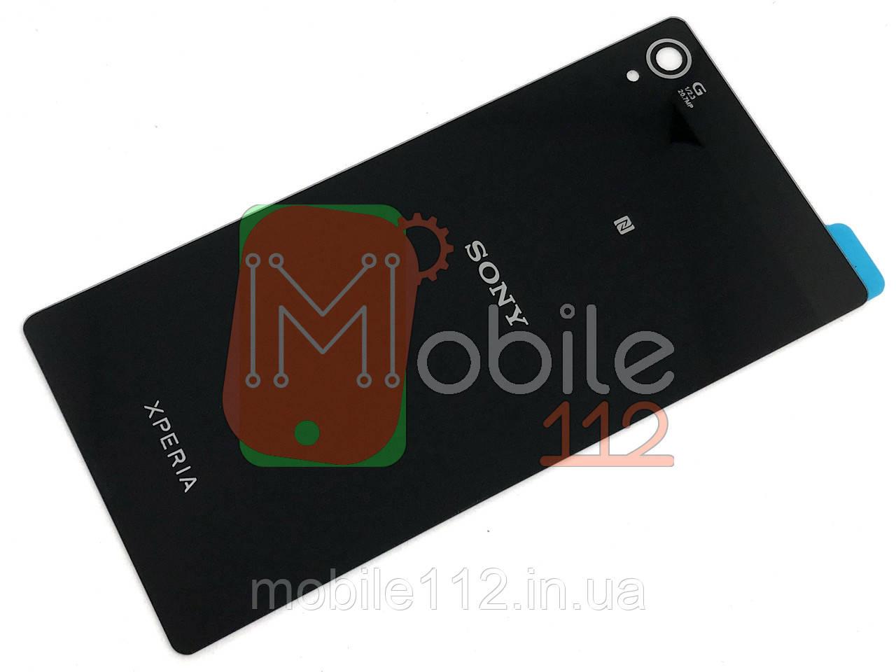 Задня кришка Sony Xperia Z3 D6603 D6633 D6643 D6653 чорна