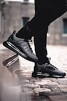 """Зимние кроссовки, ботинки на меху Fila """"Черные"""", фото 3"""