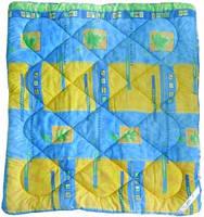 Одеяло 140х100 детское тёплое в садик/в кроватку, силикон (холофайбер)