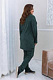 Тёплый удобный костюм туника+штаны, р.52-54, 56-58, 60-62 код 3299Ф, фото 9
