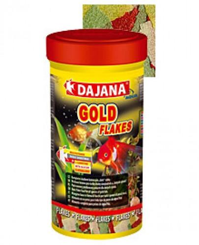 Корм GOLD FLAKES  для золотых рыбок и декаративных карасей, Dajana
