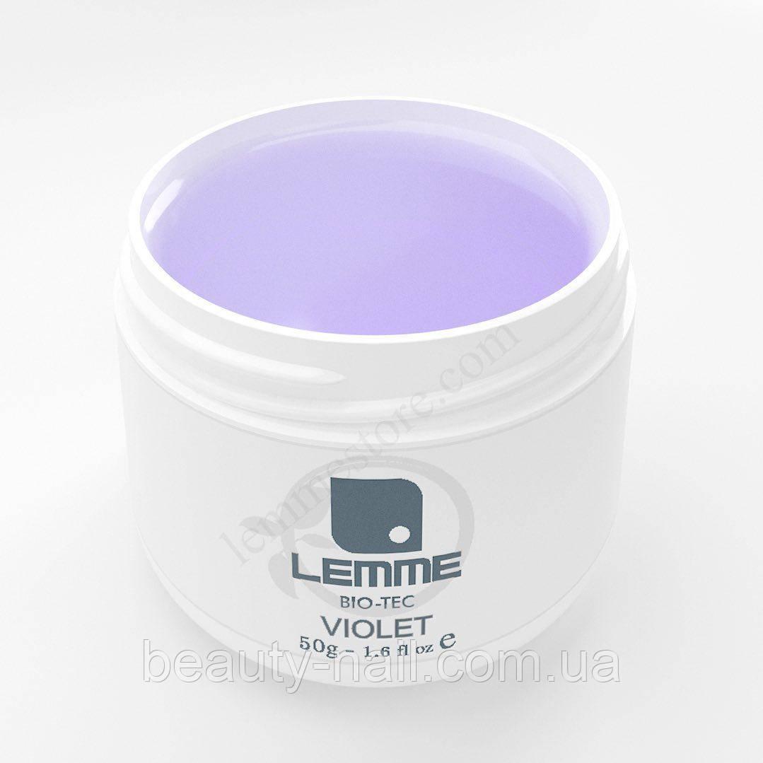 Гель для нарощування нігтів Lemme Violet Bio Tec, 50 мл