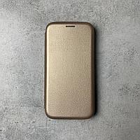 "Чохол-книжка ""PREMIUM EDGE"" для Samsung J5 2017 (J530) Gold"
