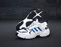 "Кроссовки мужские Adidas Consortium x Naked Magmur Runner ""Белые"" адидас р. 41-45"