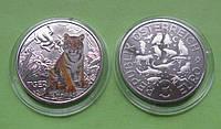 Австрия 3 евро 2017 г. Тигр .UNC