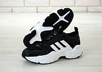 """Кроссовки мужские Adidas Consortium x Naked Magmur Runner """"Черные"""" адидас р. 41-45"""
