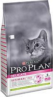 ПроПлан Пурина PURINA ProPlan Delicate Turkey Сухой корм для котов с чувствительным пищеварением с индейкой