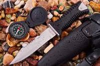 Нож для дайвинга SS 35 (ЧЕРНЫЙ) отличный подарок