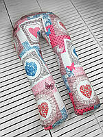 Подушка Обнимашка для беременных WOW Подкова-подушка U 100% хлопок (XL) Подкова