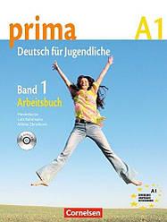Prima Deutsch fur Jugendliche 1 Arbeitsbuch mit Audio-CD
