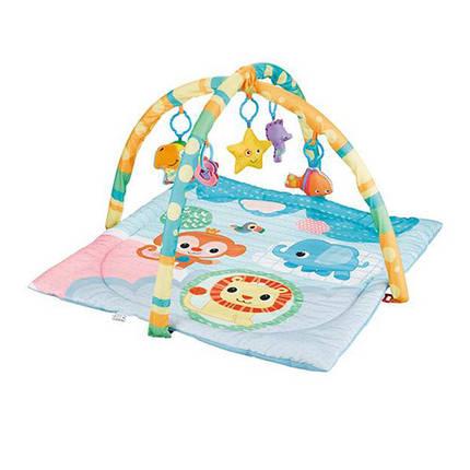 Коврик для младенца, дуга, подвески, JL630-1D, фото 2