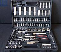 Набор инструментов Rupez RTS-108ед. Набор головок и ключей хромванадий