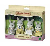 Sylvanian Families  Cottontail Rabbit Family Семья Серых Кроликов