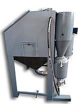 Напорная пескоструйная камера 1200х800х700 | Пескоструйный аппарат напорного типа PsTech, фото 3