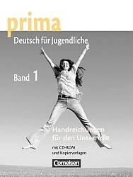 Prima Deutsch fur Jugendliche 1 Handreichungen fur den Unterricht