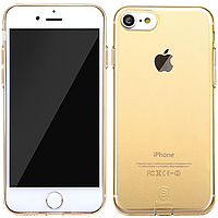 Чехлы Baseus Чехол Baseus для iPhone 7 Simple Gold (10164)