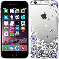 Чехлы Kavaro Чехол Kavaro Ice Fluorescence Series для iPhone 6/6S Purple (19572)