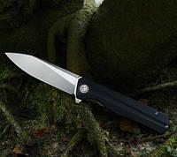 Нож Petrified Fish PF818 Black окаменевшая рыба