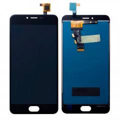 Дисплей (LCD) Meizu M3s (Y685Q/  Y685H)/  M3s mini с сенсором чёрный, фото 2
