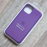 Силиконовый чехол Silicone Case для Apple iPhone 11 Pro (Grape) (copy)