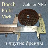 Решётка NR5 для Zelmer, Philips, Bosch,Profil (D=54мм; d центра=8мм; d ячейки=4мм)