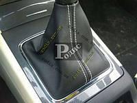 "Чехол ручки КПП ""Orticar"" Mitsubishi Lancer X 2007-2017 - Чехол КПП Митсубиси Лансер 10"