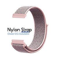 Нейлоновый Ремешок для Samsung Gear S2 Classic Pink