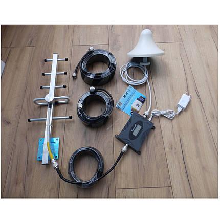 100% Оригинал. Усилитель репитер мобильной связи GSM 900 полный комплект + Подарок + Скидка, фото 2