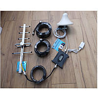 100% Оригинал. Усилитель репитер мобильной связи GSM 900 полный комплект + Подарок + Скидка