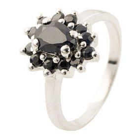 Серебряное кольцо Silver Breeze с натуральным сапфиром 18 размер 1134870-18, КОД: 1193362