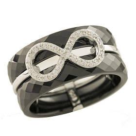 Серебряное кольцо Silver Breeze с керамикой 17 размер 1221761, КОД: 1193411