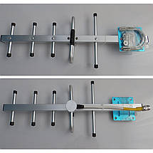 Гарантия 12 мес. Усилитель репитер мобильной связи GSM 900 полный комплект + Подарок + Скидка, фото 3