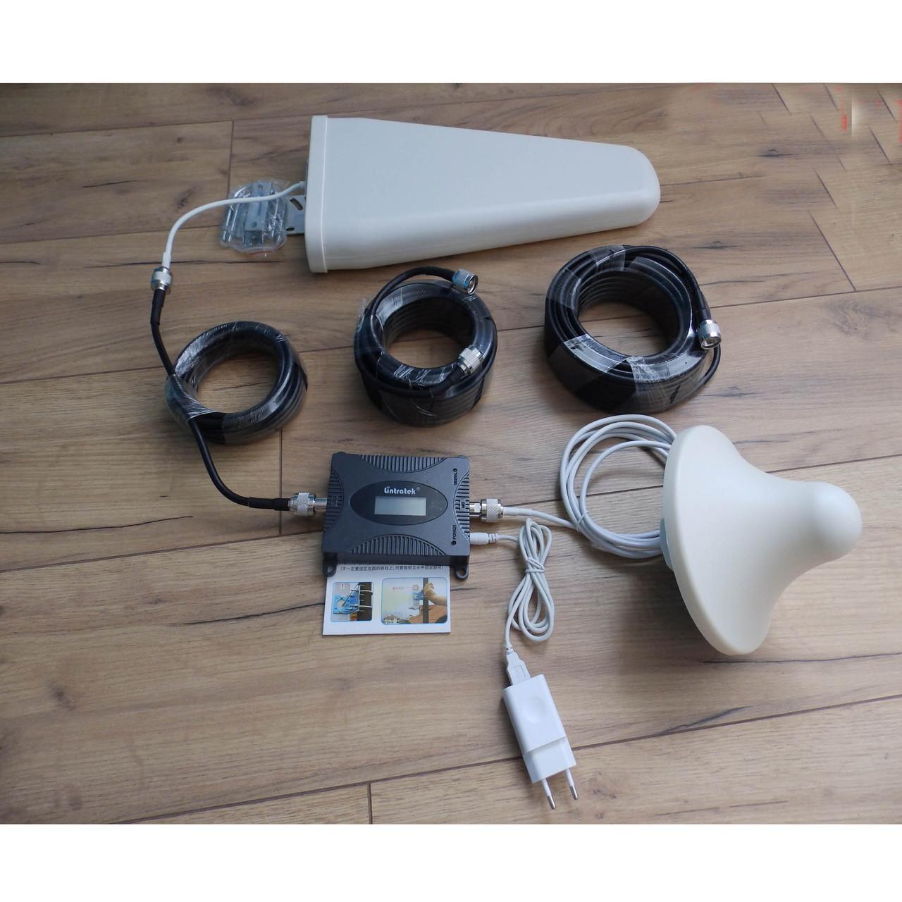 Оригинал Гарантия 12 мес. Усилитель сотовой мобильной связи 900Mhz  репитер Lintratek KW16L-GSM