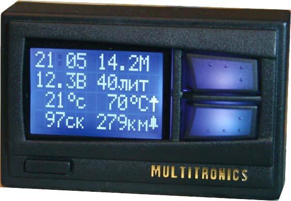 Маршрутный компьютер Multitronics Comfort X10
