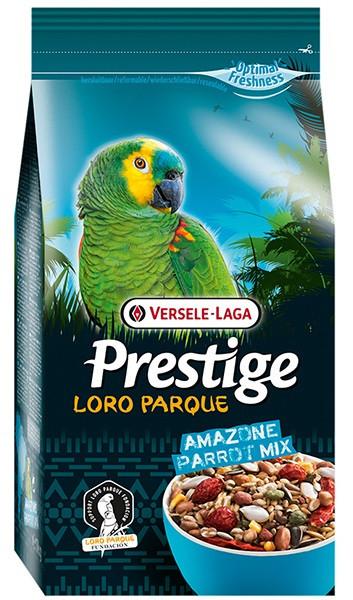 Корм для средних и крупных попугаев Versele-Laga Prestige Loro Parque Amazone Parrot Mix 1 кг