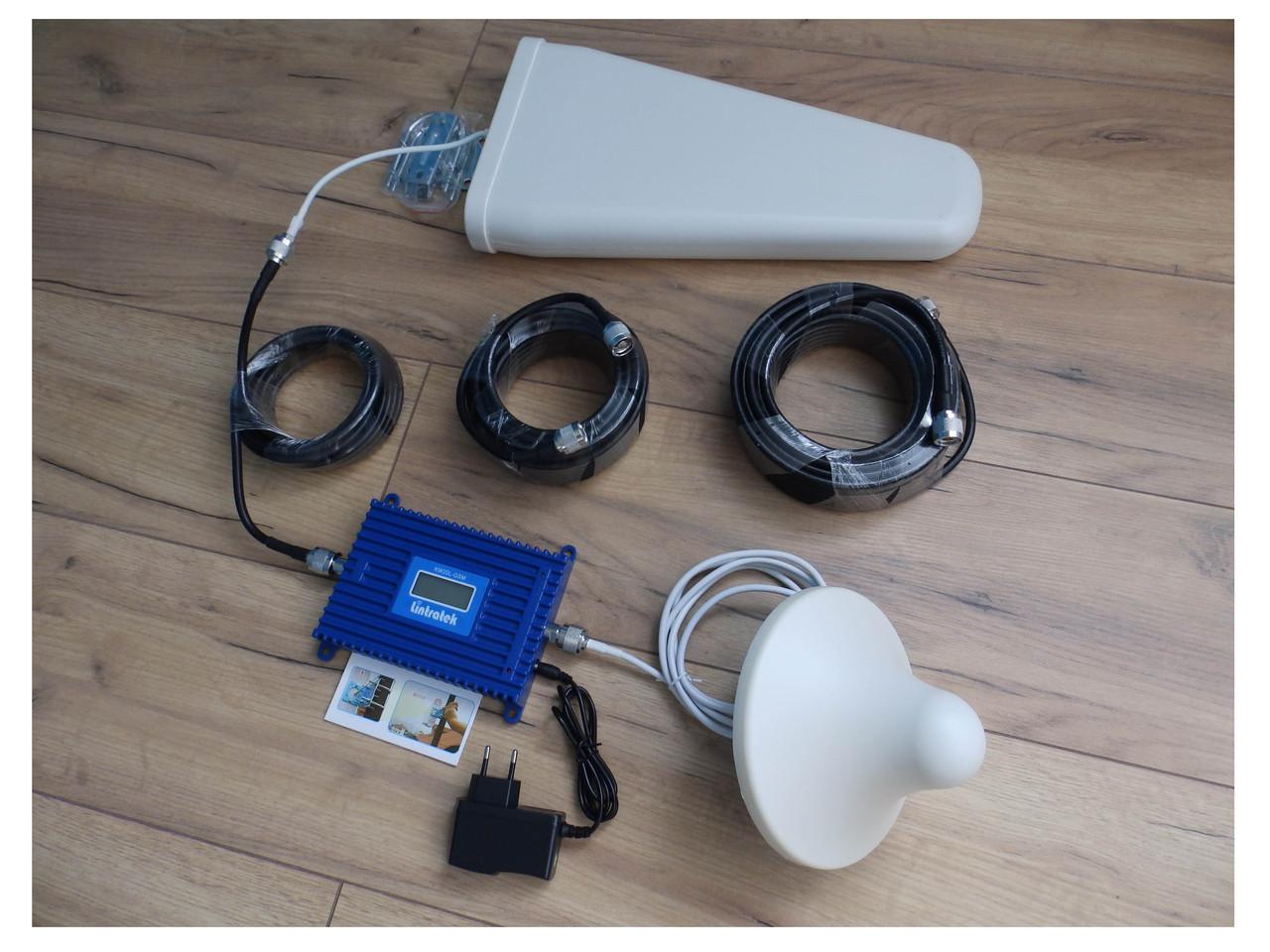 GSM усилитель сигнала репитер Lintratek KW20L-DCS 1800 комплект Оригинал +Подарок +Скидка