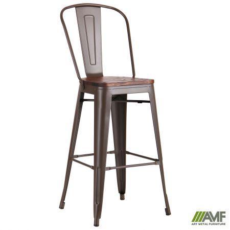Барный стул Ozzy, цвет кофе AMF