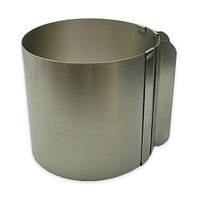 Кольцо для выпечки раздвижное без дна высота 20 см