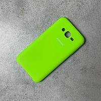 Чохол-накладка Silk Silicon Case Samsung J7 Neo J700/J701 Limon