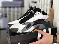 Мужские кроссовки Adidas Streetball черно белые \ серые