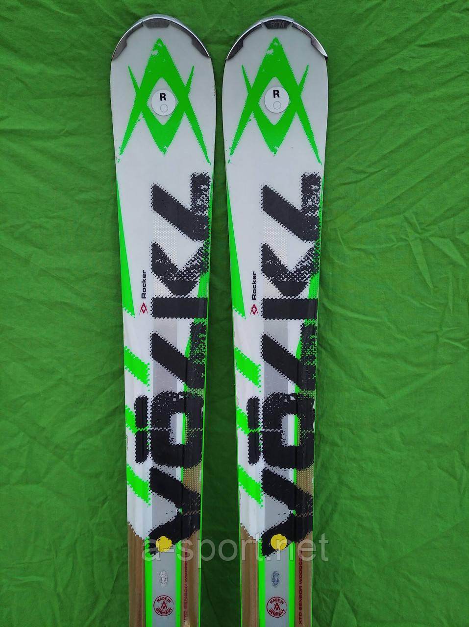Гірські лижі бу Volkl rtm 84 171 см експертний універсал, 2013р