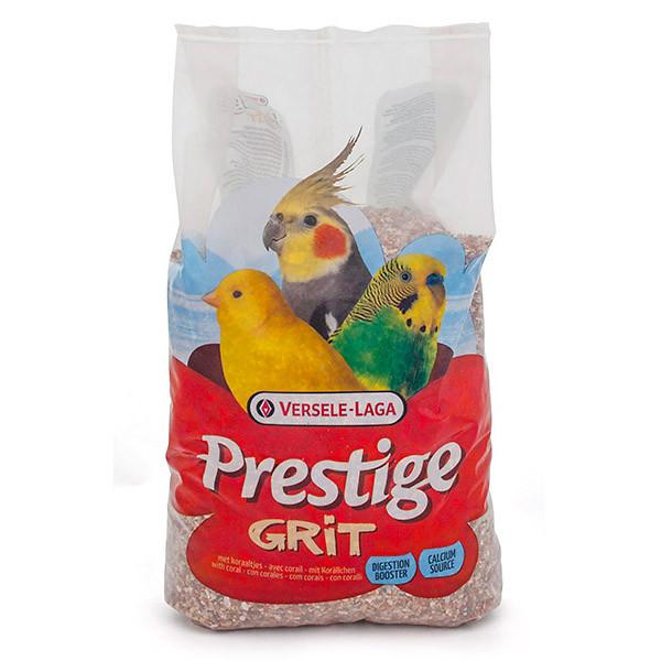 Мінеральна підгодівля для декоративних птахів Versele-Laga Prestige Grit з коралами 2,5 кг