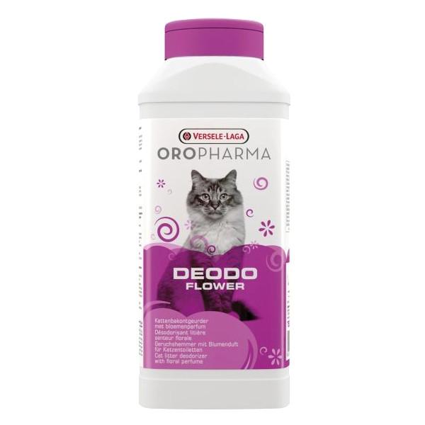 Дезодорант для туалета кошек Versele-Laga Oropharma Deodo Flower цветочный 750 г